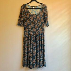 Lularoe Nicole dress XL
